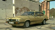 Doyle's solar gold Ford Capri 3.0S from The Professionals