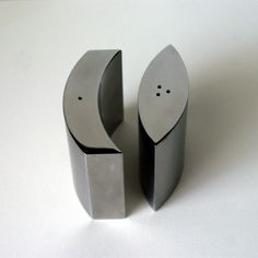 Modern Geometric Salt and Pepper Shakers Moon by 3nativegypsies, $25.00