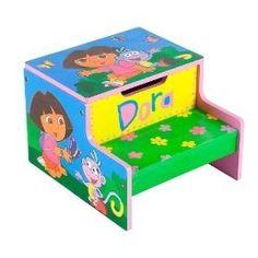 dora bedroom decorations | Dora the Explorer and Diego Decorative Night Light
