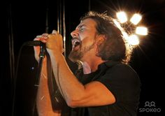 Eddie Vedder. of Pearl Jam performing live at Manchester Evening News Arena. Manchester, England - 20.06.12. Super yum!