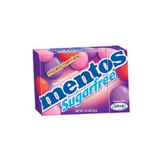 Shop online Mentos Sugar Free Chewy Candy with Mixed Berries - 12 Ct at AmericaRx.com