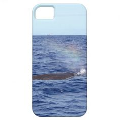 Pot Whale creating a Rainbow iPhone 5 Cover