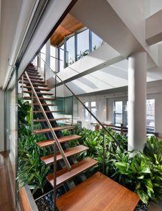 Loftwohnung Broadway joel sanders interieur zimmerpflanzen