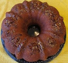 Pina Colada Rum Cake...used white cake mix and pineapple juice instead of water