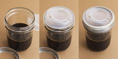 Make a canning jar into a travel cup -- cool
