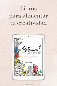 A book that shows the step by step to make simple and beautiful drawings of Best Books To Read, Good Books, Botanical Line Drawing, The Book Thief, Book Study, Interesting Information, Film Quotes, New Words, Learn English