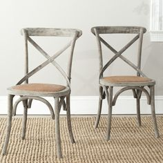 Safavieh Franklin Side Chair & Reviews | Wayfair