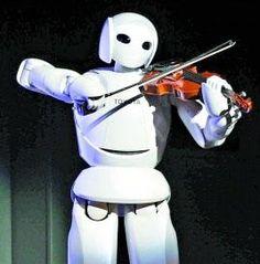 This robot can't figure out if he's a car or a nerd.