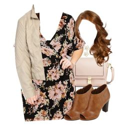 """""""Lydia Inspired Affordable Plus Size Outfit"""" by veterization ❤ liked on Polyvore featuring Mossimo, JunaRose, Jessica Simpson, A.N.A, Marc by Marc Jacobs and plus size clothing"""