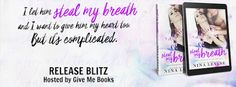 Steal My Breath by Nina Levine✦ #ReleaseBlitz✦ #Excerpt✦ #Giveaway (Kindle Fire, signed paperback of Steal My Breath or a $20 Amazon Gift Card)✦ - iScream Books