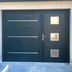 Steel Gate Design, Front Gate Design, House Gate Design, Door Gate Design, Modern Garage Doors, Garage Door Styles, Gate Designs Modern, Cool House Designs, Latest Gate Design