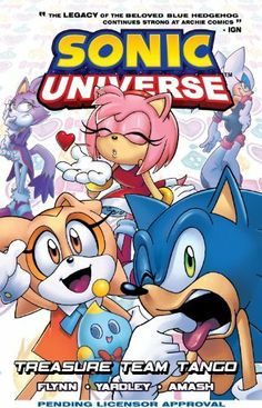 Sonic Universe 6: Treasure Team Tango by Sonic Scribes, http://www.amazon.com/dp/B00D5AL2U4/ref=cm_sw_r_pi_dp_9q3gtb1T7MHBR