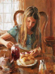 Trent Gudmundsen - Raspberry Jam - Oil - 16 x 12