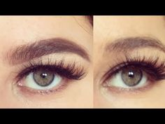 Perfekte Augenbrauen in 2 Minuten I Perfect Eyebrows in 2 Minutes I Marina Si - YouTube