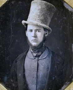 Great hat! 1850s?