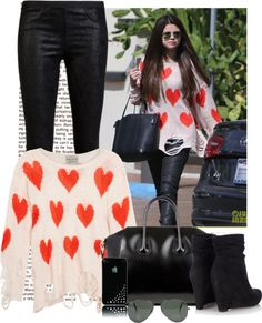 """Selena Gomez"" by nikush2711 ❤ liked on Polyvore"