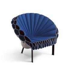 Dror Benshetrit for Capellini, Peacock Chair