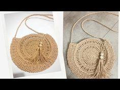 Kağıt iple çok tatliş bir hasır çanta yapımı sizlerle💯modele bayılacaksınız💯💓crochetbag/ - YouTube Jute, Straw Bag, Crochet Top, Knitting, Youtube, Fashion, Crochet Pouch, Crochet Bag Tutorials, Bag Tutorials