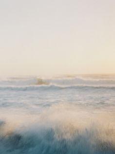 magical ocean, ethereal portraits, fine art film photographer, fuji 400h blush pink berry bridal bouquet, fine art film photographer, california coast | Heather Payne Photography