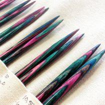 Darn Pretty interchangeable knitting needles in Winter Sky