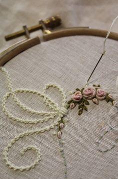 Elisabetta ricami a mano: Idee... Con i fiocchi, e in rosa