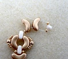 Schema Bracelet Mina avec perle IOS®par Puca®