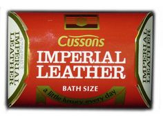 Imperial Leather soap bar.