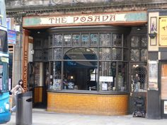 The ornate frontage of The Posada in central Wolverhampton.