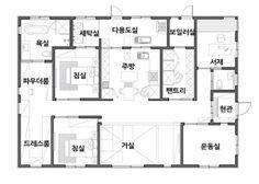 Prefab, House Floor Plans, Architecture Design, New Homes, House Design, Flooring, How To Plan, Interior, Blue
