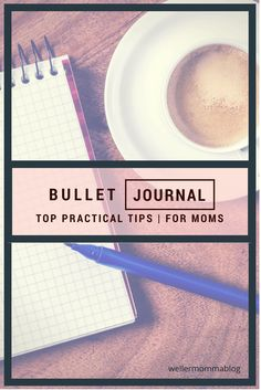 Starting any habit can be a challenge...but making bullet journaling a regular part of your day will give you clarity in your day to day mom life!  (and help your sanity, too!)