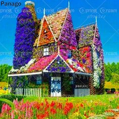 Dubai Miracle Garden, the largest natural flower garden in the world, opened in the middle of the desert - Be A Gardening Star Dream Garden, Garden Art, Garden Design, Home And Garden, Garden Cottage, Path Design, Garden Paths, Design Ideas, Beautiful Gardens