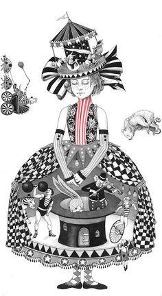 Ilustraciones de Steva Dorosheva que rinden homenaje a su infancia | paredro.com