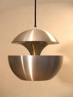 Anodised aluminium pendant by Bertrand Balas voor Raak, Netherlands