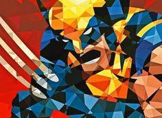 Marvel Geometric Superheroes by Eric Dufresne 6