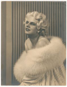 Authentic Jean Harlow signed photo