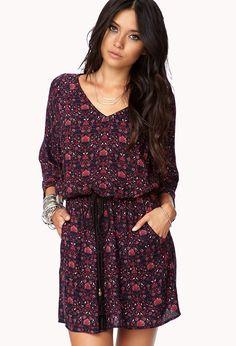 Boho Floral Dress | FOREVER21 Boho chic....... Love this soooooo much