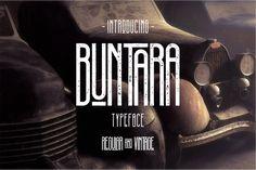 Buntara Typeface from FontBundles.net