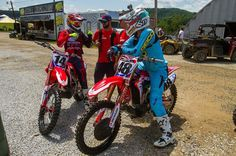 We caught up with Cole Seely and Christian Craig yesterday to talk about their move to Florida and more. Visit Racer X Online for more.  @afred | #realracing #thisismoto #motocross #highpointmx