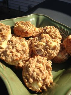 Apple Cinnamon Protein Muffins