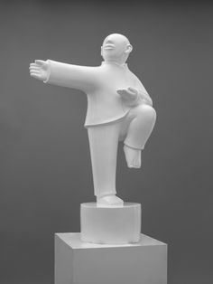 Tai Chi Series - Sculptures by XieAige.  The Tai Chi series by Xie Ai Ge demonstrate poses of the Chinese martial art 'Tai Chi.' Adopted for self defence, each pose is slow and graceful. Balance is the most important concept in the movements, which are carried out slowly with high levels of relaxation and intense concentration.
