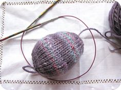 Knitted Easter Egg Pattern Tutorial - Natural Suburbia