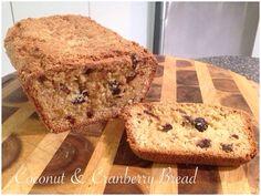 Coconut & Cranberry Bread Bellini Recipe, Cranberry Bread, Banana Bread, Coconut, Cooking, Desserts, Recipes, Food, Kitchen