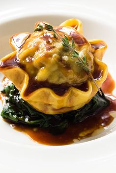 This sumptuous oxtail ravioli recipe demonstrates perfectly how cheaper cuts of meat can be transformed to a thing of beauty with a little time and patience.