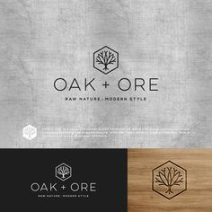 Oak & Ore - Design a modern logo for hand crafted wood and metal furniture company Oak & Ore is local Vacnouver based hand crafted wood and metal custom furniture company. Furniture Logo, Metal Furniture, Furniture Companies, Furniture Design, Vintage Furniture, Garden Furniture, Trendy Furniture, Furniture Buyers, Furniture Dolly