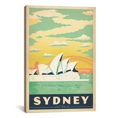 Shop for iCanvas ART Anderson Design Group Sydney Opera House - SydneyAustralia Canvas Print Wall Art. Free Shipping on orders over $45 at Overstock.com - Your Online Art Gallery Store! Get 5% in rewards with Club O!