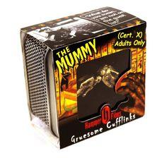 MagMouch Cufflinks - The Mummy Hammer Films X Cert Gruesome Cufflinks Film X, Hammer Films, Decoration, Gift Baskets, Image Link, Cufflinks, Amazon, Gifts, Decor