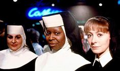 Sister Act - Publicity still of Whoopi Goldberg, Kathy Najimy & Wendy Makkena. The image measures 2034 * 1285 pixels and was added on 7 January Mary Wickes, Scary Movie 3, Kathy Najimy, The Godfather Part Ii, Movie Sequels, Sister Act, Whoopi Goldberg, The Late Late Show, Amazon Prime Video