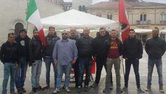 SORA - Sora, CasaPound in piazza Santa Restituta