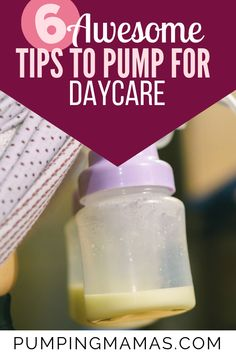 Genious Tips To Pump Milk For Daycare (The Best Method) Pumping And Breastfeeding Schedule, Pumping Schedule, Breastfeeding Positions, Advice For New Moms, New Parent Advice, Bottle Feeding Breastmilk, Pump Breastmilk, Pumping At Work, Increase Milk Supply