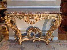 Grande Console Louis XV, Antiquités Olivier Alberteau, Proantic
